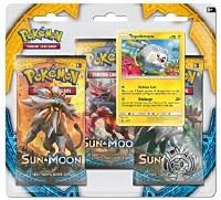 Pokemon Sun & Moon 3- Pack Blister