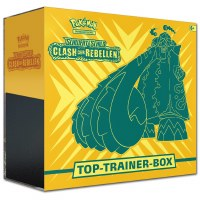 Pokemon Schwert & Schild Clash der Rebellen Top-Trainer Box
