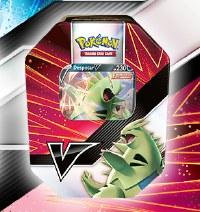 Pokemon V Strikers Tin Tyranitar V / Empoleon V EN