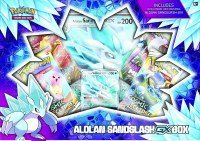 Pokemon Alolan Sandslash GX Box EN