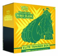 Pokemon Sword & Shield Rebel Clash Elite Trainer Box English