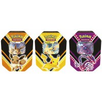 Pokemon Fall V Tin Box Pikachu/Eternatus/Eevee