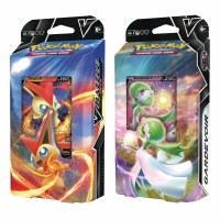 Pokemon Victini V and Gardevoir V Battle Decks EN
