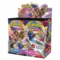 Pokemon Sword & Shield Booster Display English