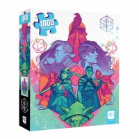 Critical Role Puzzle Mighty Nein 1000 Pieces