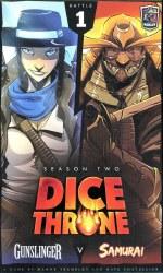 Dice Throne Season Two Gunslinger vs Samurai English