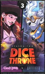 Dice Throne Season Two Cursed Pirate vs Artificer English