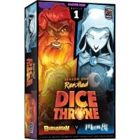 Dice Throne Season One ReRolled Barbarian vs Moon Elf