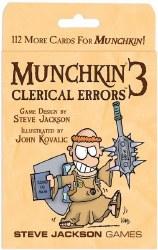 Munchkin 3 Clerical Errors Expansion EN