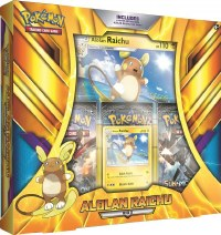 Pokemon Alolan Raichu Box