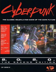 Cyberpunk 2020 RPG Core Rulebook (2nd Edition)