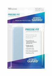 UltGuard Precise Fit Sleeves Japanese Size Topload (100)