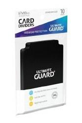 Ultimate Guard Card Dividers Black Standart Size (10) Black