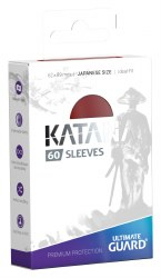 UltGuard Katana Sleeves Japanese Size Red (60)