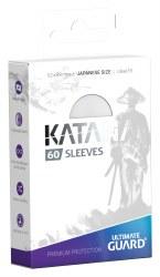 UltGuard Katana Sleeves Japanese Size White (60)