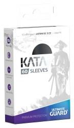 UltGuard Katana Sleeves Japanese Size Black (60)