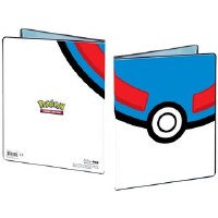 Ultra Pro 4 Pocket Portfolio Pokemon Great Ball