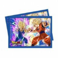 Ultra Pro Dragon Ball Sleeves Vegeta vs Goku (65)