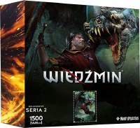 Heroes of the Witcher Series 2 Puzzle (1500)