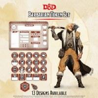 D&D Barbarian Token Set