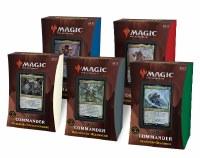 Magic Strixhaven Akademie der Magier Comm-Decks (5) D PREO