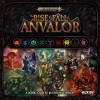 Warhammer Age of Sigmar The Rise & Fall of Anvalor English