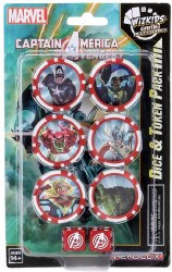 Captain America and the Avengers Dice & Token Pack HeroClix