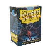 Dragon Shield Black Matte Standard Sleeves (100)