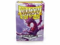 Dragon Shield Clear Purple Matte Standard Sleeves (100)