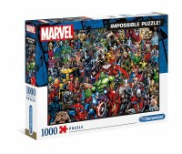 Marvel 80th Anniversary Impossible Puzzle Characters (1000)