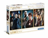 Harry Potter Multi-Puzzle Characters (3 x 1000)