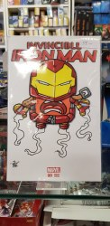 Invincible Iron Man #1 BRAINFART Sketch Blank Variant