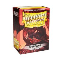 Dragon Shield Crimson Classic Standard Sleeves (100)