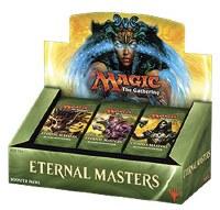 Magic Eternal Masters Display Englisch