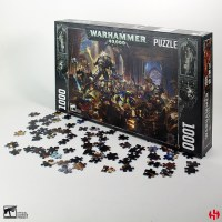 Warhammer 40K Puzzle Gulliman vs Black Legion (1000)