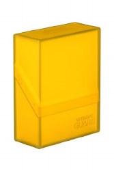 Ultimate Guard Boulder Deck Case 40+ Standard Amber