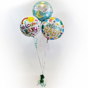 Baby Gender Neutral Balloon Bouquet