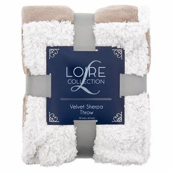 Ultra-Soft Sherpa Throw Blanket