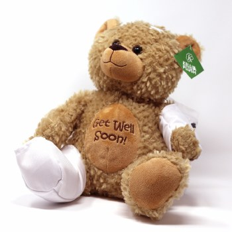 Get Well Autograph Teddy