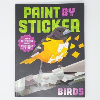 WISHLIST - Paint by Sticker Book (Large) - Assorted Themes
