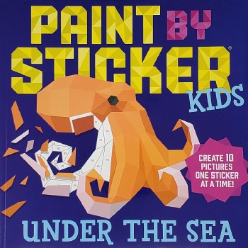 WISHLIST - Paint by Sticker Book (Medium) - Assorted Themes
