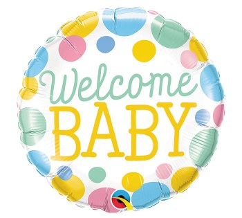 Premium Welcome Baby Balloon