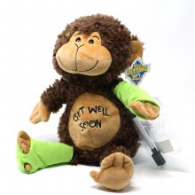 Get Well Autograph Monkey