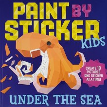 WISHLIST DONATION - Paint by Sticker Book (Medium) - Assorted Themes