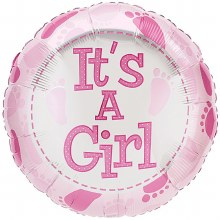 Premium Celebrate Baby Girl Balloon