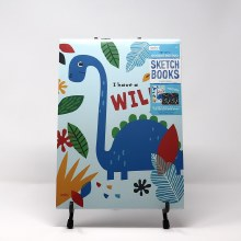 WISHLIST DONATION - Children's Sketch Book 2-pack