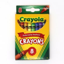 WISHLIST DONATION - Crayola Crayons 8-pack