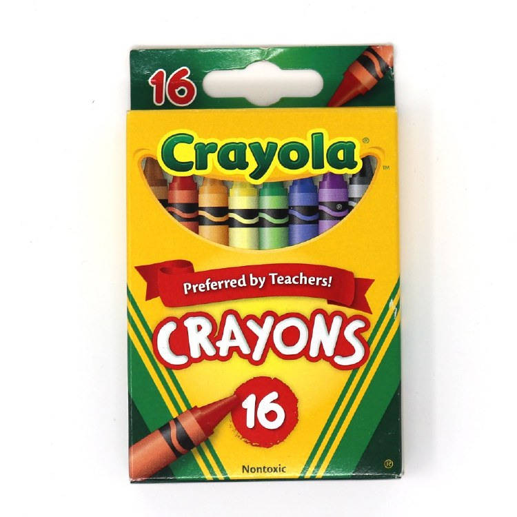 WISHLIST DONATION - Crayola Crayons 16-pack