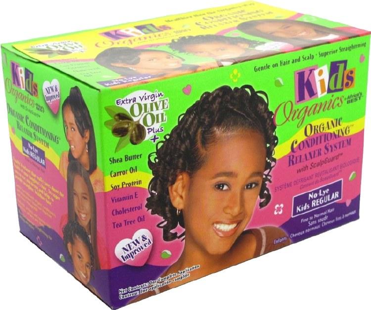 Africa's Best Kids Originals Olive Oil Natural Conditioning Relaxer System Regular Strength