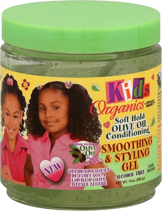 Africa's Best Kids Originals Soft Hold Olive Oil Styling Gel 15oz